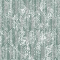 Kendall Teal Geometric Wallpaper