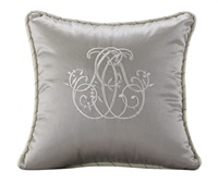 Kerrington Silk Embroidery Pillow