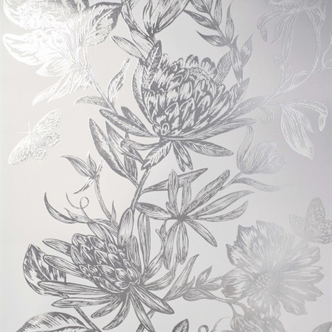 Margot Bronze Damask Wallpaper