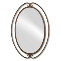 Kilmer Wrought Iron Mirror