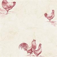 Rooster Toile