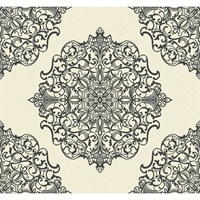 Lace/Filigree Damask