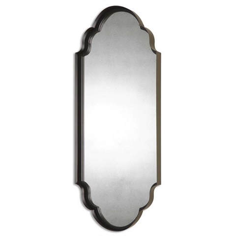Lamia Curved Metal Mirror