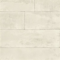 Lanier Dove Stone Plank Wallpaper