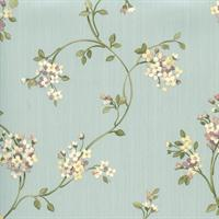 Laurel Floral Teal