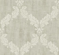 Leafy Frame Traditional Wallpaper