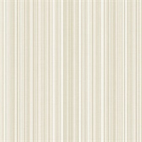 Light Grey Stria Stripe Wallpaper