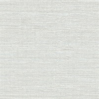 Lilt Light Blue Faux Grasscloth Wallpaper