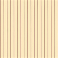 Lined Red and Cream Stripes