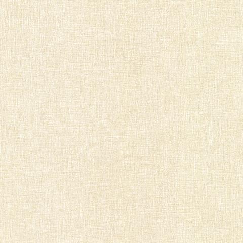 Hb25811 White Linen Texture Faux Wallpaper