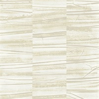 Lithos Light Yellow Geometric Marble Wallpaper