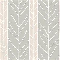 Lottie Rose Stripe Wallpaper
