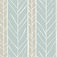 Lottie Slate Stripe Wallpaper