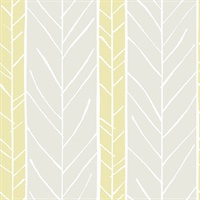 Lottie Yellow Stripe Wallpaper