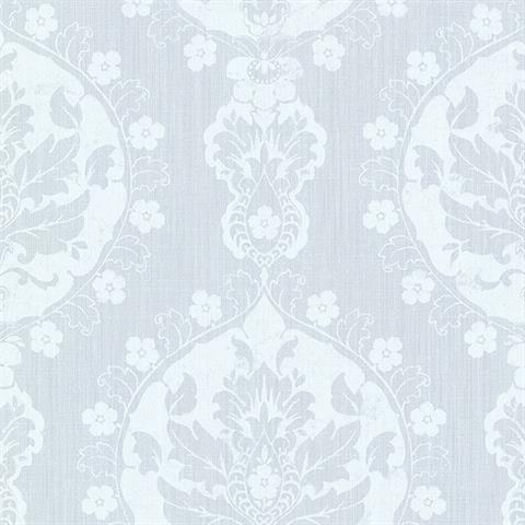 Lourdes Damask Medallion