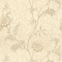 Lovera Jacobean Floral Scroll