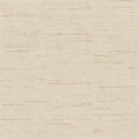 Maclure Champagne Striated Texture Wallpaper