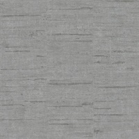 Maclure Silver Striated Texture Wallpaper