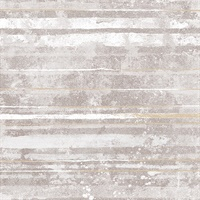 Makayla Mauve Distressed Stripe Wallpaper