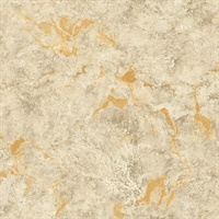 Marble Gold Metallic Wallpaper