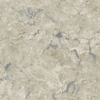 Marble Taupe Metallic Wallpaper