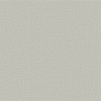 Marblehead Taupe Crosshatched Grasscloth Wallpaper