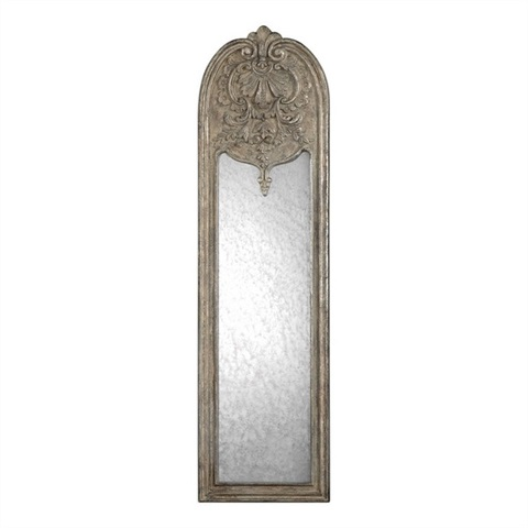 Marecchia Antiqued Silver Leaf Mirror