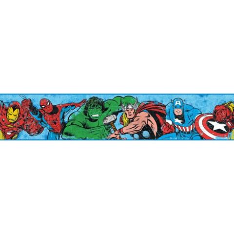 Dy0241bd Marvel Avengers Border Disney Kids Iii
