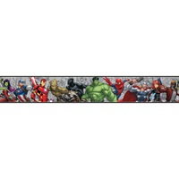 Marvel Characters Border