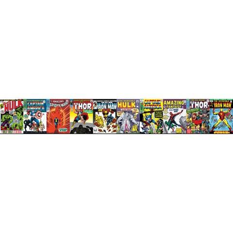 Dy0274bd Marvel Comic Book Covers Border Disney Kids Iii