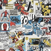 Marvel Comic Sidewall