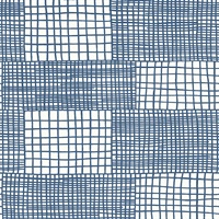 Maxwell Blue Geometric Wallpaper