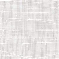 Meander Wallpaper in shades of Grey