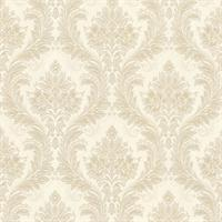 Mercutio Beige Damask