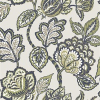 Midsummer Jacobean Wallpaper