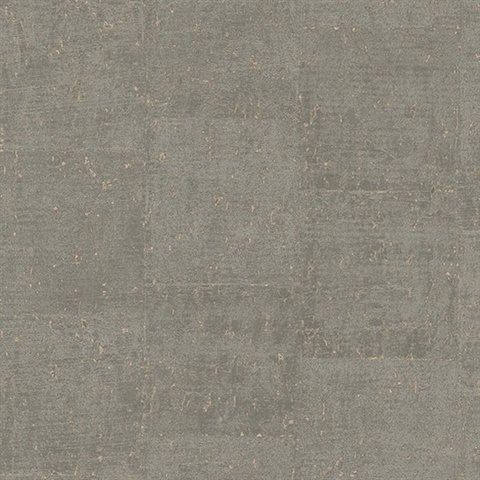 Millau Taupe Faux Concrete Wallpaper