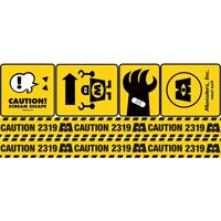 Monsters, Inc. Caution Signs Giant