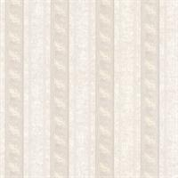 Montague Mauve Scroll Stripe