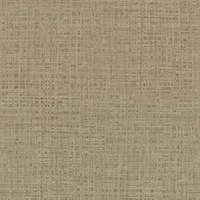 Montgomery Brass Faux Grasscloth Wallpaper