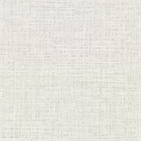 Montgomery Off-White Faux Grasscloth Wallpaper