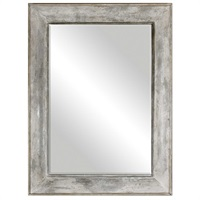 Morava Rust Aged Gray Mirror