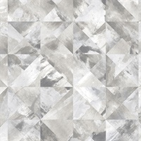 Mosaic Wallpaper in shades of Grey