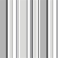 Multi Stripes Gray Tones with Black and White