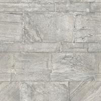 Clifton Light Grey Sandstone Wallpaper