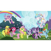 My Little Pony Ponyville Pre-Pasted Mural