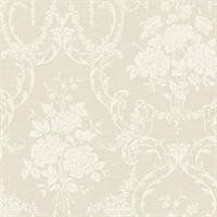 Neoclassical Rose Damask