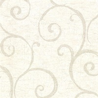 Newbury Cream Geometric Faux Plaster Wallpaper