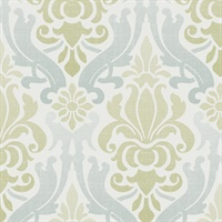 Nouveau Damask, Peel and Stick