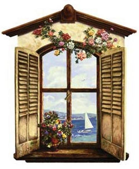 Oceanview Window Panel