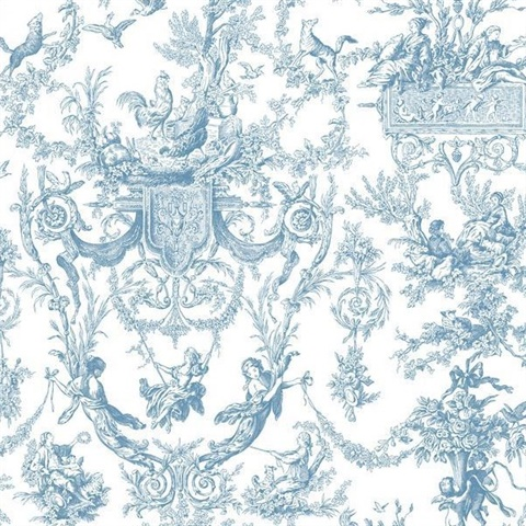 Old World Toile